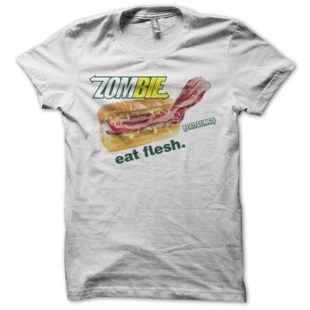 Tee shirt Subway parodie Zombie  sublimation