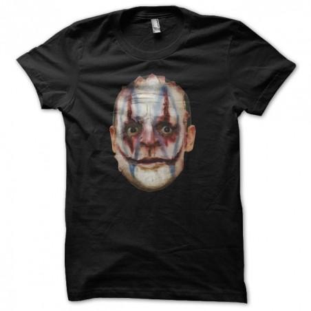 T-shirt Hannibal Lecter parody Joker Black sublimation