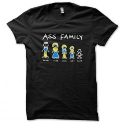 tee shirt ass family...