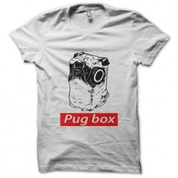 tee shirt Pug box  sublimation