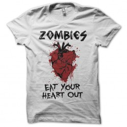 Zombies t-shirt eat your...