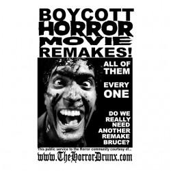 t-shirt boycot poster of...