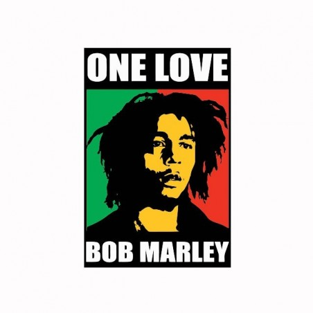 Tee shirt Bob Marley One love    sublimation