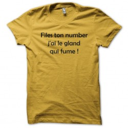 tee shirt Files ton number...