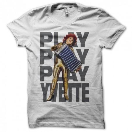 Tee shirt Yvette Horner Play Play Play Yvette  sublimation