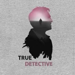 tee shirt true detective serie americaine gris sublimation