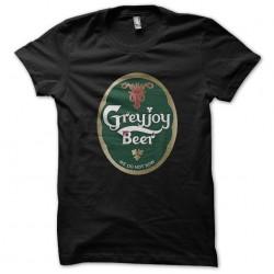 tee shirt grey joy beer...