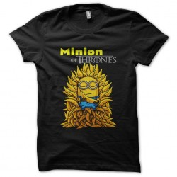 tee shirt minion of thrones...