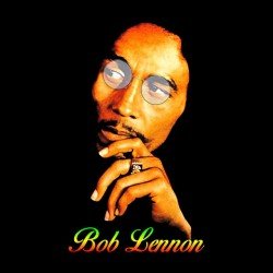 t-shirt bob lennon black sublimation