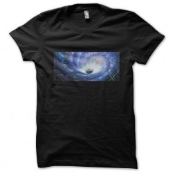 Space cats t-shirt, black...