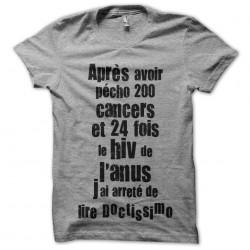 tee shirt doctissimo...