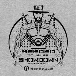 tee shirt  seeded showdown gris sublimation