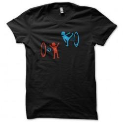 T-shirt portal 2 black...