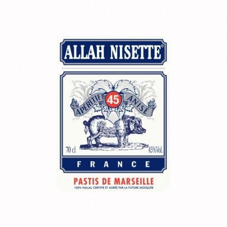 T-shirt Pastis Allah Nisette white sublimation