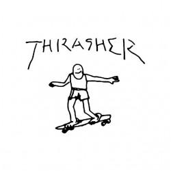 tee shirt Thrasher spiderman white sublimation