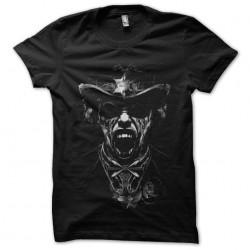 tee shirt skull sheriff...