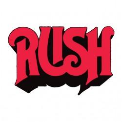 tee shirt rush logo groupe de rock punk  sublimation