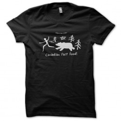 tee shirt fast food...