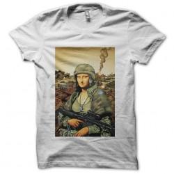 tee shirt la joconde soldat...