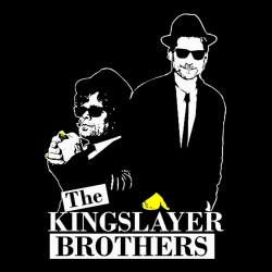 t-shirt the kingslayer brothers black sublimation