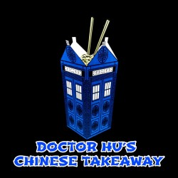 doctor hu's t-shirt parodie doctor who black sublimation