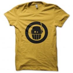 shirt robo funny yellow...