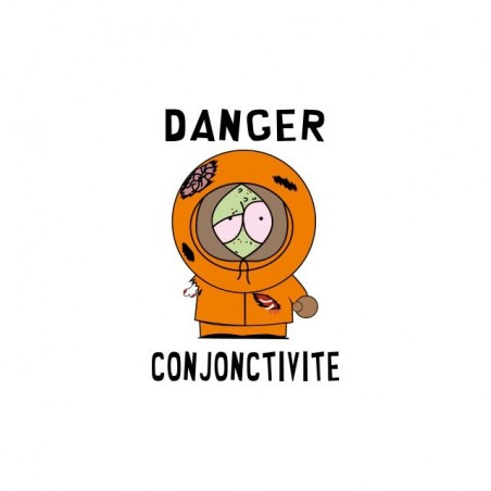 Kenny Zombie South Park teeshirt white parody sublimation