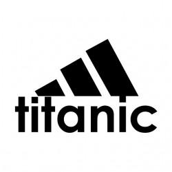 adidas t-shirt titanic...