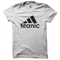 adidas t-shirt titanic parody white sublimation