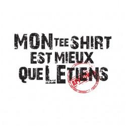 tee shirt my shirt is more...