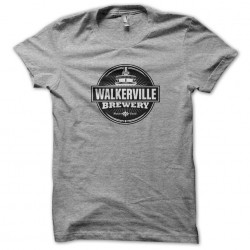 tee shirt Walkerville Brewery Logo gris sublimation