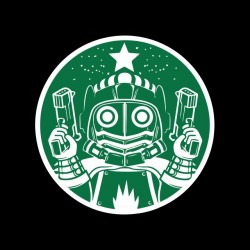 tee shirt starlord coffee  sublimation