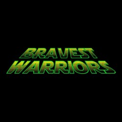 bravest warriors t-shirt black sublimation