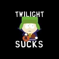 tee shirt Twilight Sucks Kyle vampire South Park parodie  sublimation