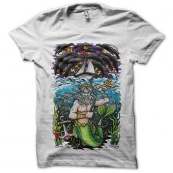 Neptune Sailboat t-shirt white sublimation