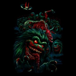 Critters shirt black sublimation