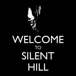 tee shirt welcome to silent...