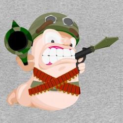 tee shirt Worms en guerre...