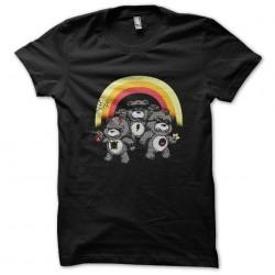 t-shirt angry bears black...
