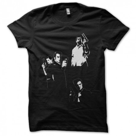Tee shirt Max Payne fan art  sublimation