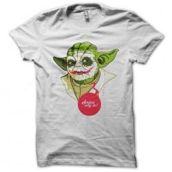shirt Yoda as The Joker...