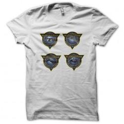 t-shirt Stargate logo white...