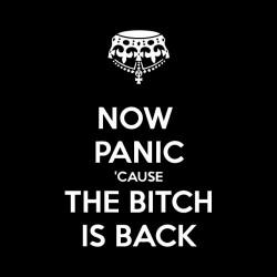 tee shirt Now panic cause...
