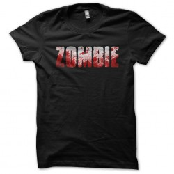 tee shirt  zombie  sublimation