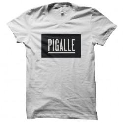 tee shirt pigalle  sublimation