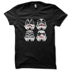 kiss trooper t-shirt black...