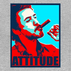Attitude fight club t-shirt gray sublimation