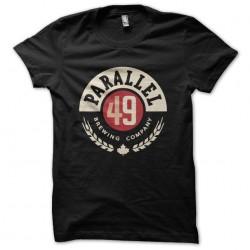 tee shirt parallel 49 logo...