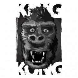 shirt king kong white...