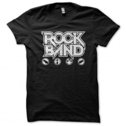 t-shirt rock band black...
